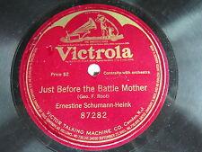 Ernestine Schumann - Heink - VICTROLA 87282 - CIVIL WAR - Just Before the Battle