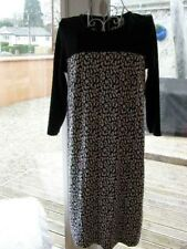 Black & white animal print dress size L (12?14?) by mama licious