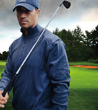 Bermuda Sands Mens Size S-Xl 2Xl 3Xl 100% Cotton Pullover Tour Golf Shirt Jacket