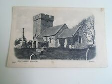 PORTHKERRY CHURCH, Barry (3246) Franked & Stamped 1904  §E733
