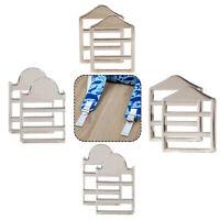 Brass Slider Bar Strap Adjuster Buckles Ladder Webbing Fasteners Strap for Purse