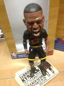 Cleveland Cavaliers 2016 NBA Champions LeBron James Screaming Bobblehead NEW