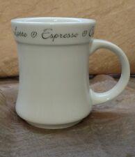 Joe Cafe MSC  Coffee Latte Espresso Cappuccino Moka Mug Cup White 14oz