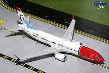 Gemini Jets Norwegian Air Boeing B737 Max8 Sonja Henie 1:200 Die-Cast G2Nax660