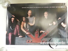 "A Perfect Circle - 24"" by 18"" Poster - Tool member In Band - Promo"