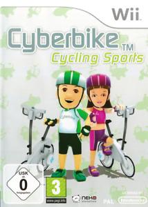 Cyberbike Cycling Sports - Nintendo Wii / U - German - Game Only - NEW
