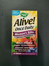 Nature's Way Alive Once Daily Women's 50+ Ultra Potency 60 Tablets
