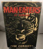 Man-Eaters of Kumaon by Jim Corbett - 1st American Edition - 1st Printing 1946