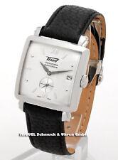 Mechanisch - (automatische) Tissot Armbanduhren aus Edelstahl mit Datumsanzeige