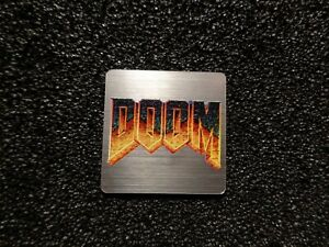 Doom Retro PC Logo Label Decal Case Sticker Badge [478]
