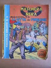 Raccolta Gigante n°5 1964 Maschera Nera La Città dei Fuorilegge Corno  [G504]