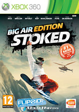 Stoked Big Air Edition (Snowboard) XBOX 360 IT IMPORT NAMCO