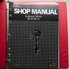 Honda Outboard BF50 BF50A Shop Manual With Supplements