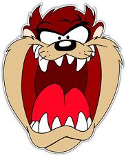 """Taz Tasmanian Devil Kids Cartoon Car Bumper Window Vinyl Sticker Decal 4""""X5"""""""