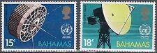 Bahamas n. 354-355 ** 100 anni di cooperazione meterologische