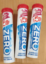 3 X HIGH5 ZERO Electrolyte Hydration Tablets Added Vitamin C - Berry 20 Tab Tube
