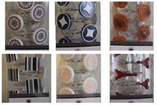 12Pcs Shower Curtain Hooks Rings for Bathroom, Decorative Resin Shower hooks