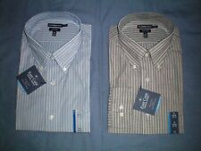 NWT $45 MSRP Mens Croft /& Barrow Classic Fit Easy Care Cotton Blend Shirt