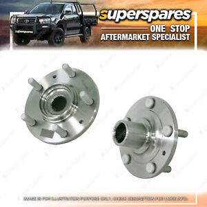 Superspares Front Wheel Hub for Mazda 6 GH 12/2007 - 11/2012 Without Bearing