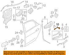 AUDI OEM 11-17 A8 Quattro Front Door-Puddle Lamp Left 4H0947133B