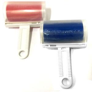 2er Set Fusselroller abwaschbar | Fusselentferner  Kleiderroller Fusselrolle