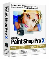 JASC (Corel) paint shop pro 10 (X) cd