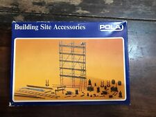 Pola Ho Scale Building Site Accessories (11462) Model Trains Layout Scenery