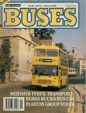 Buses Magazine 1990 February No 419 Plaxton Group Today Berks Bucks Bus Co 3083F