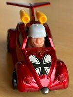 Matchbox Lesney Superfast No 11 Volkswagen Flying Bug - Rare WHITE Helmet - VNM
