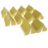 10PCS Toy Soldier Figures Army Men Accessories -Tent Yellow