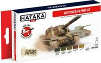 HATAKA AS95 WWII Soviet AFV Eastern Front Acrylic Paint Set 6 Colors FREE SHIP