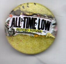 ALL TIME LOW Nothing Personal BUTTON BADGE  AMERICAN POP PUNK BAND 25mm