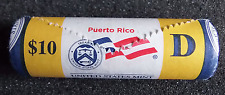 "2009-D Puerto Rico Territorial Quarter ""Beautiful"" Yellow Coin Roll"