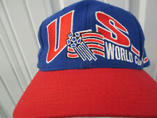 VINTAGE APEX USA MEN'S NATIONAL SOCCER TEAM SEWN SNAPBACK HAT CAP 1994 WORLD CUP
