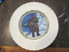 1915 Kpm Wwi Christmas Plate Soldier Weihnachten World War One