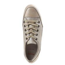 BATA Beige Leather Italian Casual Sneakers Women's Sz 37 M Hidden Inside Heel