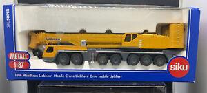 SIKU SUPER 1886 Liebherr 7 Axle Mobile Crane in 1:87 scale, excellent Boxed