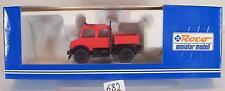 Roco 1/87 No.1495 Mercedes Unimog Feuerwehr OVP #682