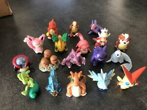 Lot 18 Figurines Pokemon (nintendo, Tomy) - Occasion