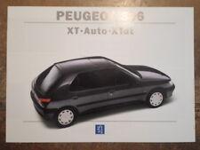 PEUGEOT 306 XT AUTO & XTdt orig c1994 UK Mkt Sales Brochure