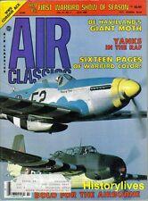 Air Classics July85 De Havilland Moth Douglas B-18 Bolo RAF Dornier Do.X Corsair