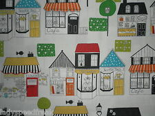 """Harlequin Curtain Fabric """"boutique Boulevard"""" 2 Metres Black and White Multi"""