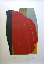 "LARRY ZOX Signed 1981 Original Color Silkscreen - ""Odon I"""