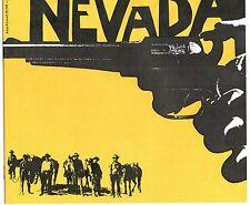 Atlas Western Filmprogramm Gregory Peck Nr. 35 NEVADA  Richard Widmark 20 Seiten