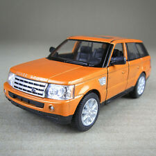 2012 Range Rover Sport 4WD Die-Cast Metal Model Car 1:38 Scale Metallic Orange