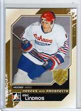 ERIC LINDROS 10/11 ITG Heroes Prospects Update #199 Hero Hockey Card