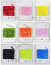 9 Colors, 18 Packs Ice Cactus Chenille Assortment, Fly Tying, Jig, Lure Making