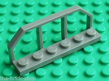 LEGO Train OldDkGray WAGON END 6583 / set 6332 6636 4990 3225 5975 ...