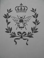 Schablone French Bee auf A4