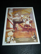 Wallace And Gromit, film card [Rhe Aardman Collection]